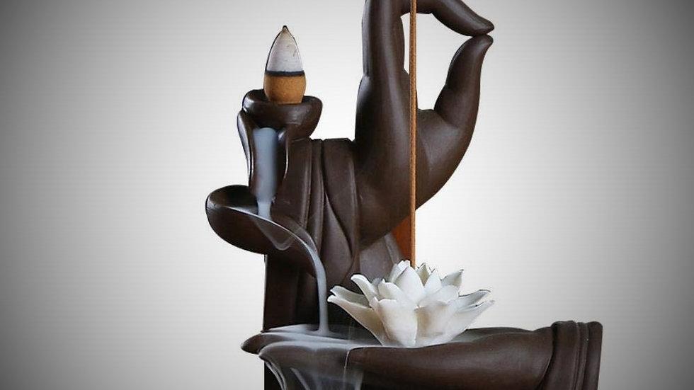 Buddha-Hand Backflow Incense Burner