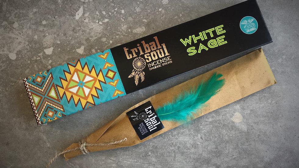 Tribal Soul-Incense Sticks - White Sage