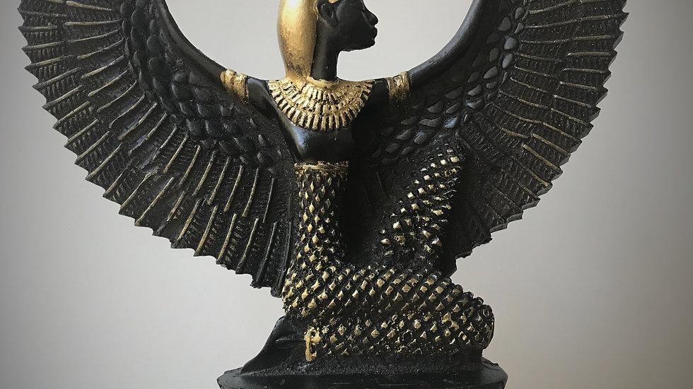 Winged Isis - 30cm x 25cm