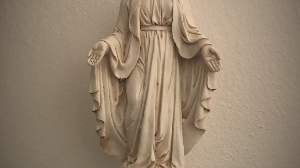 Mother Mary Statue - 19cm x 8cm