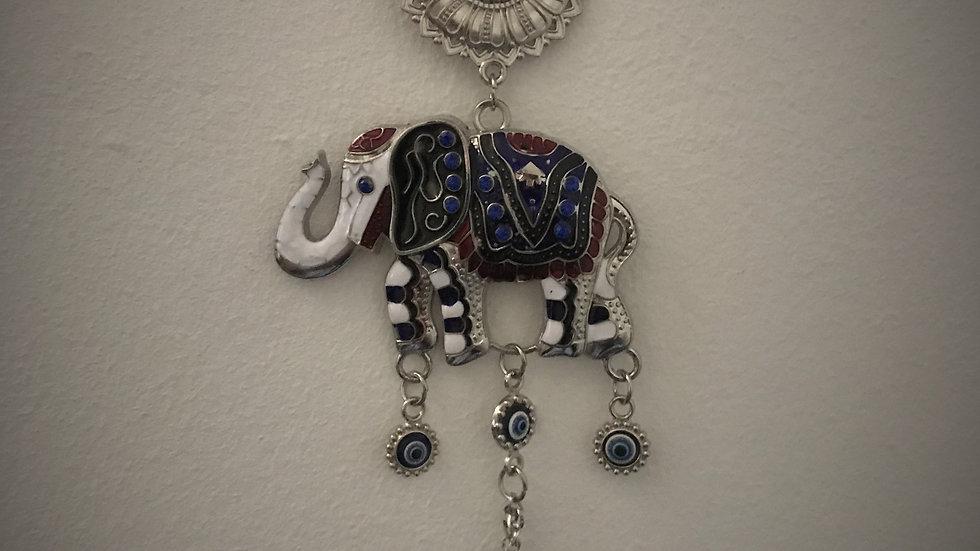 Large Evil-Eye/Elephant, Wall-Hanging