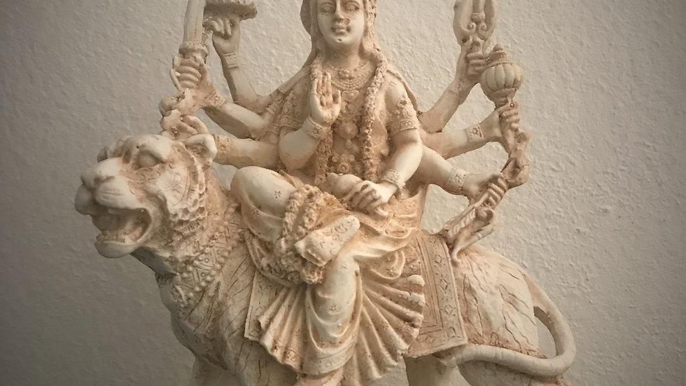 Durga-Maa Statue (Small) - 13cm x 11cm