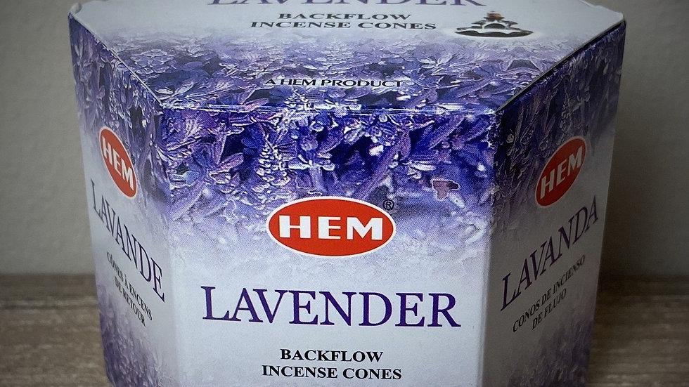 Lavender - (40) Backflow Incense Cones