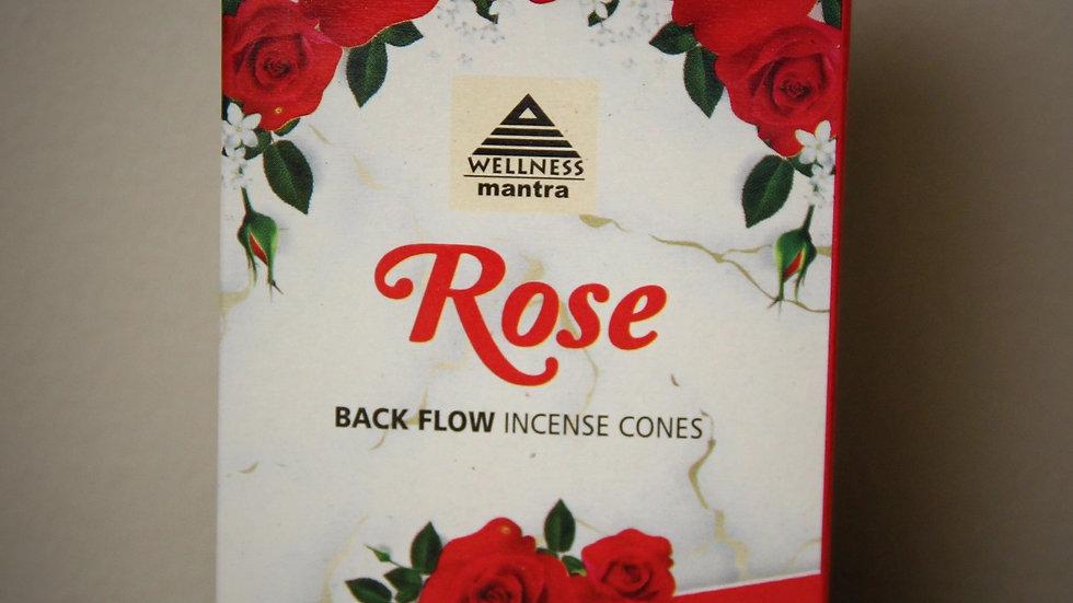 Rose - (10) Backflow Incense Cones