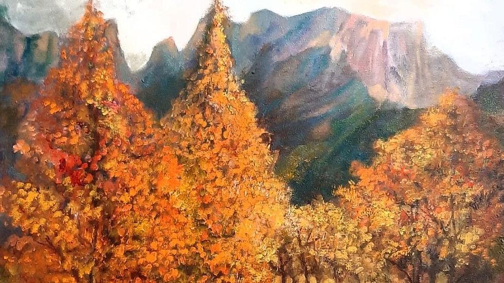 Mystical Autumn, Drakensberg