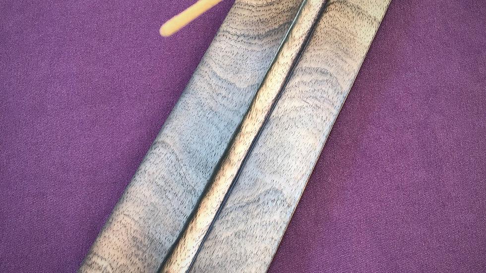 Wooden Incense Holder - (Wide 5-Inch)