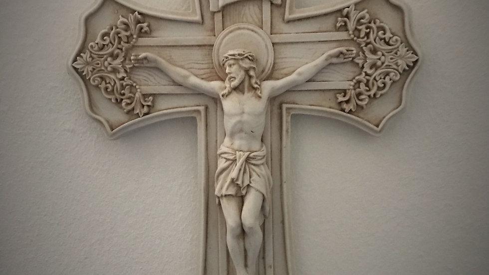 Crucifixion of Jesus (Detailed) - 25cm x 16cm