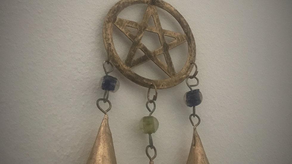 Pentagram-Chime with Bells