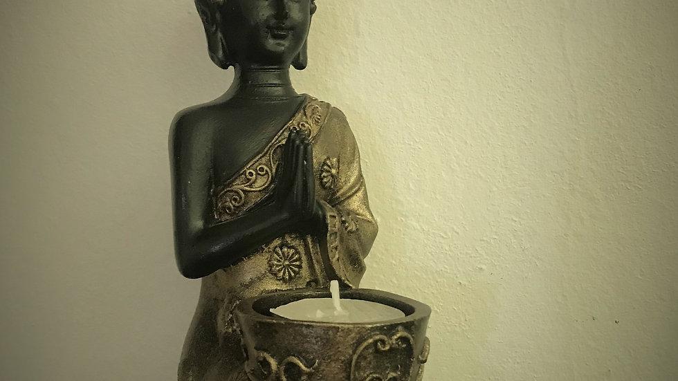 Indian-Buddha Candle Holder