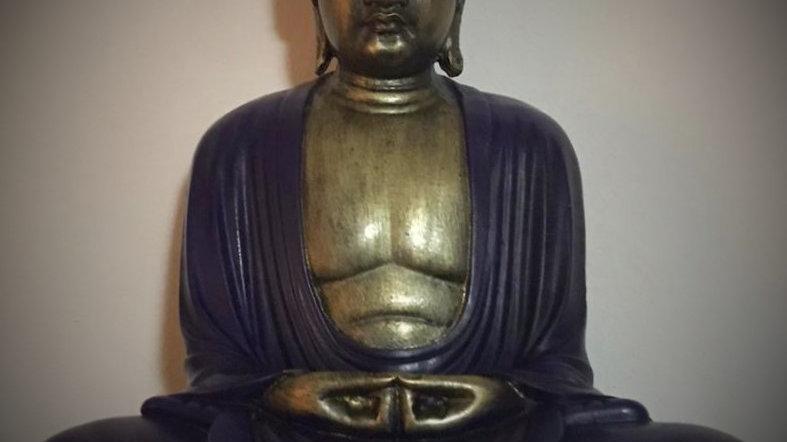 Kamakura Meditating Buddha (Purple)