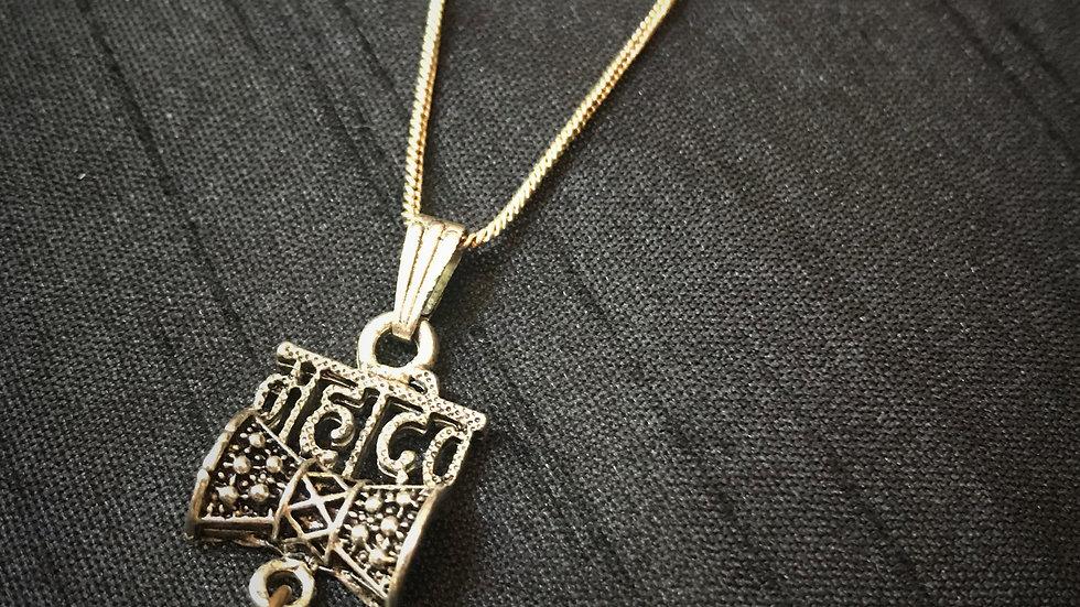 Shiva-Damru Necklace