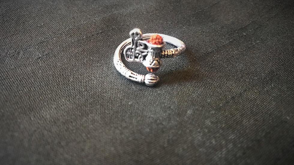 Shiva-Damru Ring