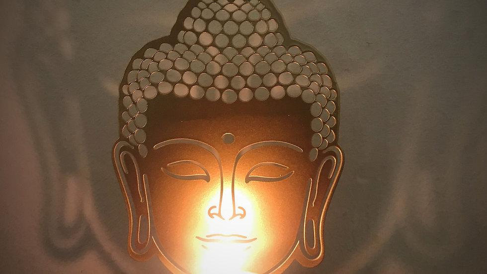 Buddha-Tealight Candle Holder (Gold)