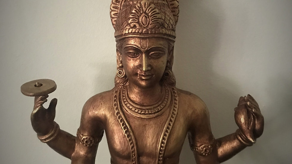 Large Vishnu Statue - 80cm x 35cm