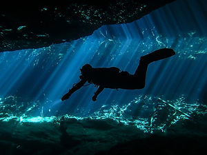 Sunbeams Cenote Diving Mexico