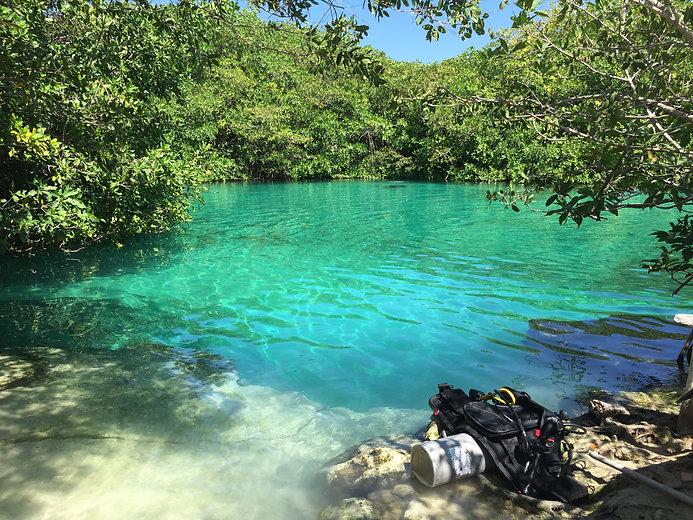Cenote Diving Playa del Carmen Mexico Tulum Cancun Scuba Diving Casa Cenote