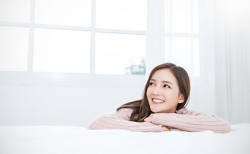 Portrait of young beautiful asian woman
