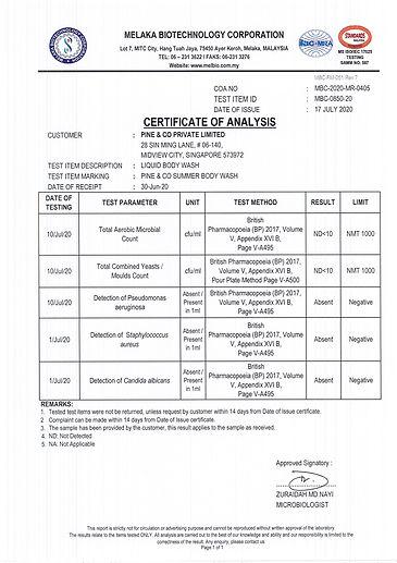 Melaka Tests (Bacterial, Yeast, Mould) 2