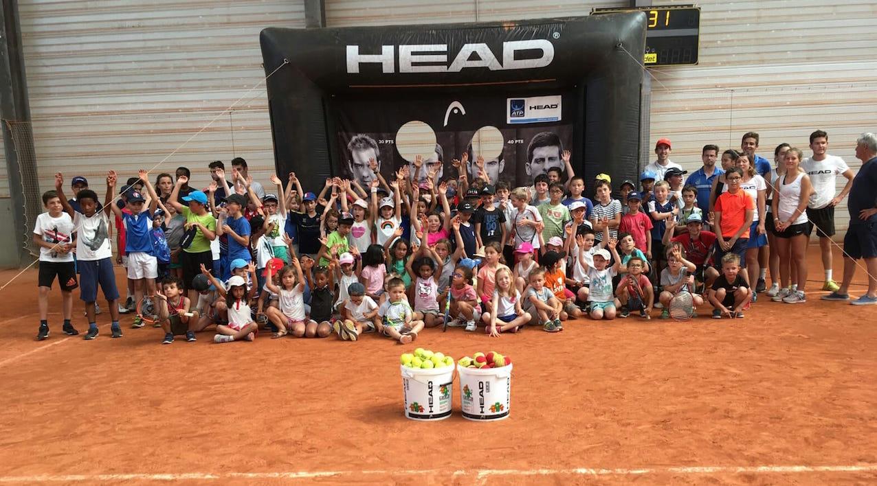 Fête de l'école de tennis USCT