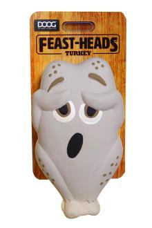 Doog 'Feast-Heads' Toy - Turkey
