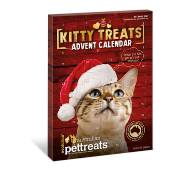 Evolution Australian Pet Treats - Cat Advent Calendar
