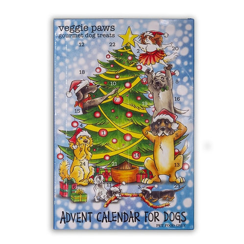 Vege Paws Dog Advent Calendar