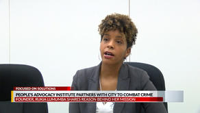 People's Advocacy Institute Working to Prevent Violence