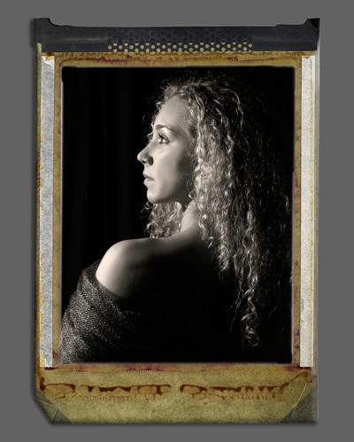 Nostalgie Klassische SW Portrait
