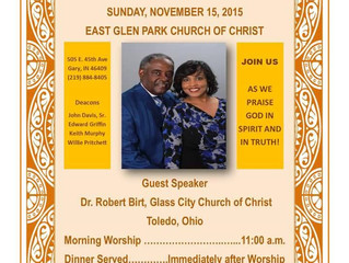 Bro. & Sis Holt's 22nd Anniversary Celebration