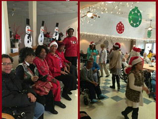 Christmas Party at the Nursing Home