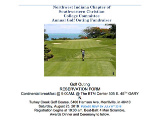 2018 SWCC Committee Annual Golf Fundraiser