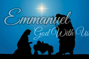 Merry Christmas (God is with Us)