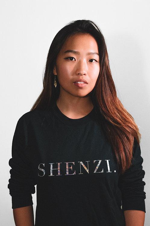 SHENZI MARBLED LONG SLEEVE