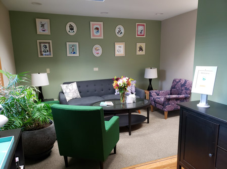 Waiting room Catalyst Counseling