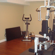Gym Area (20.4ft x 10.8ft)