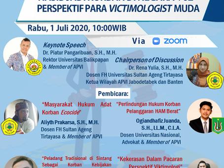 Nasib Jadi Korban Di Negara +62   Perspektif Para Victimologist  Muda