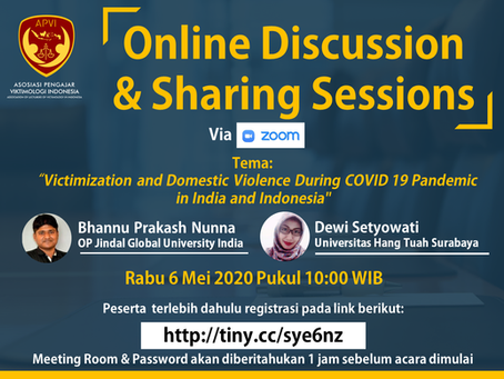 APVI Online Discussion & Sharing Sessions (Sesi 2)
