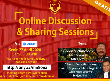APVI Online Discussion & Sharing Sessions