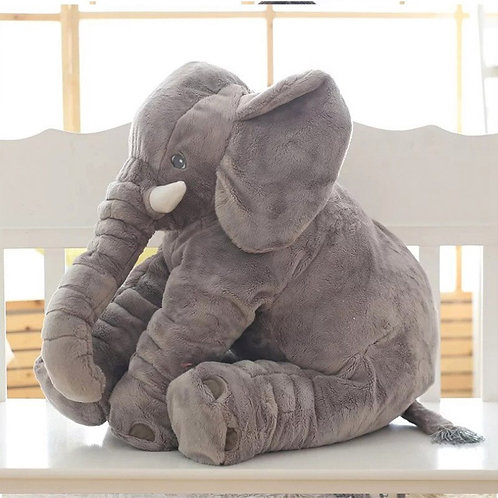 Giant Elephant Stuffed Pillow For Baby