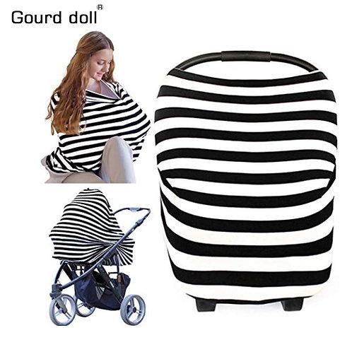 Baby Scarf Infant Car Seat Stroller Breast Feeding Scarf Nursing Covers