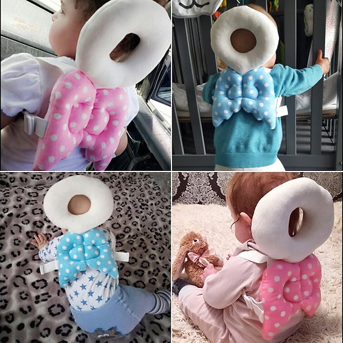 Baby Safety Protection Soft Cotton Newborn Head Back Protector