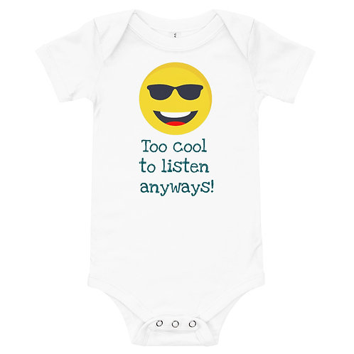 Too Cool to Listen anyways!