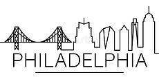 philadelphia-city-outline-icon-elements-