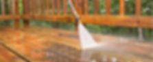 Our Tauranga painters offer a pressure washing service of houses and decks