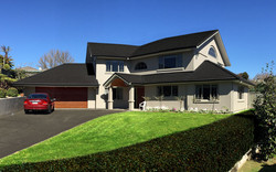 Double Storey Painted Render & Stain