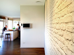 Classic White  Brick Wallpaper