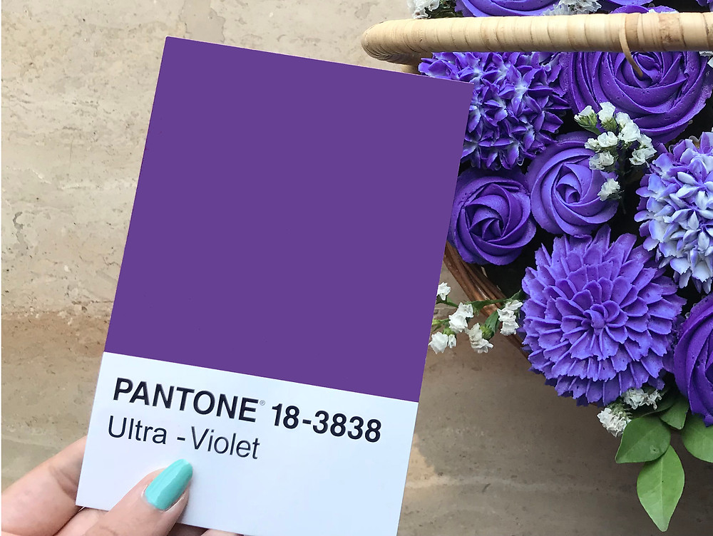 This year (2018) Pantone, the colour experts, have chosen Ultra-Violet as their colour of the year