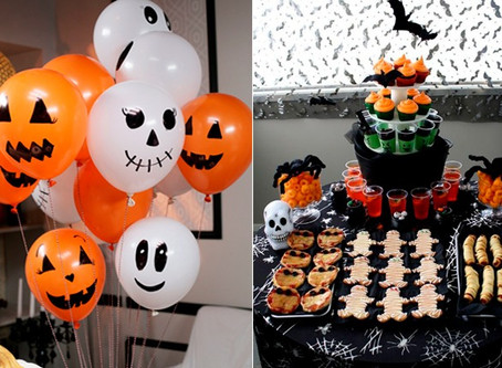 Dicas para decoração de festa de Halloween