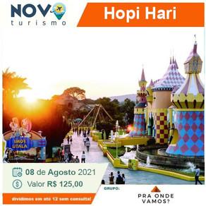 Excursão Hopi Hari dia 08/08/2021