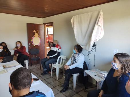 Instituto CEV e os conselhos CMDCA e Tutelar em reunião!
